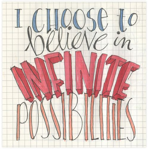 Believe-infinite-possibilities-sketch
