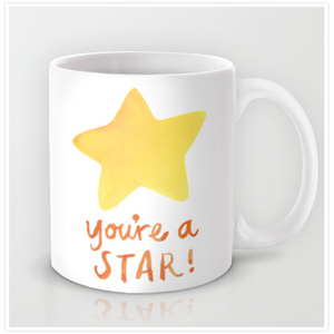 Youre a Star Mug by Floating Lemons
