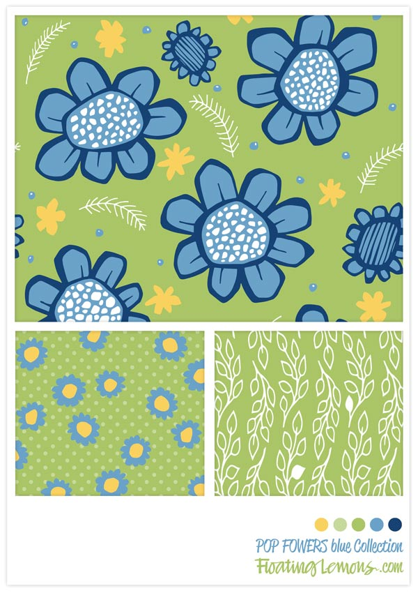 POP-FLOWERS-blue-collection-by-Floating-Lemons