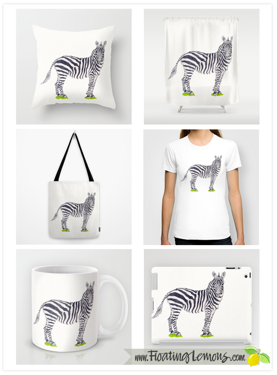 Zebra-Sketch-by-Floating-Lemons