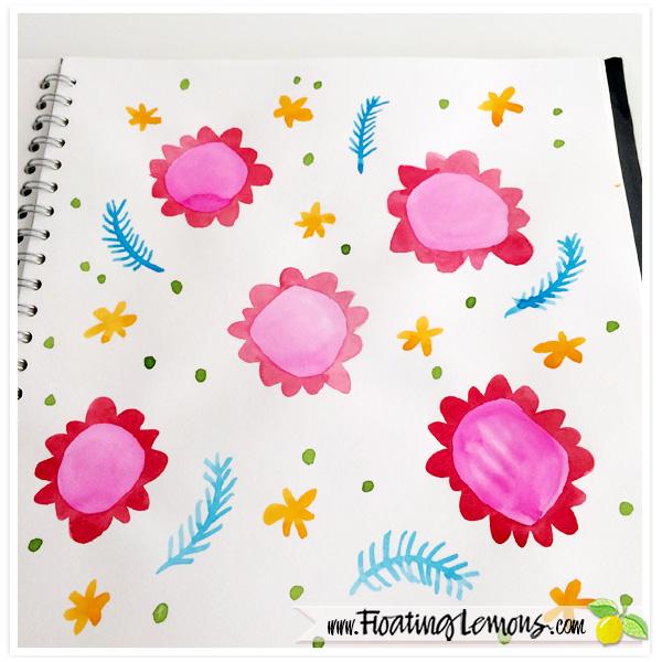 Painted-Flowers-sketch-by-Floating-Lemons