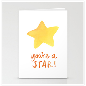 Youre a Star Cards by Floating Lemons