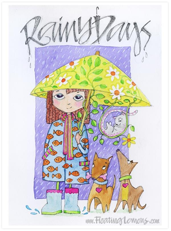 Rainy Days by Floating Lemons
