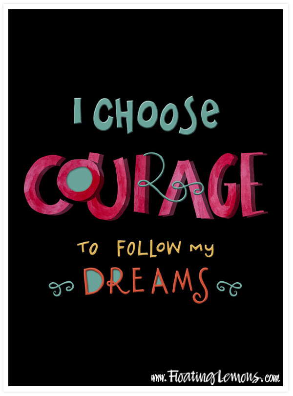 I-Choose-Courage-black-A4