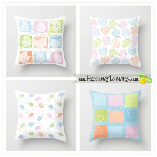 Cat-Blobs-Cushions-by-Floating-Lemons