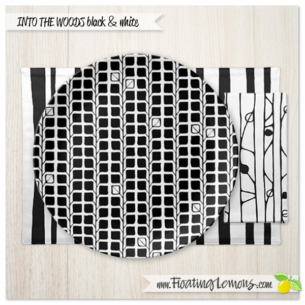 Into-the-Woods-black-white-table-setting-1-by-Floating-Lemons
