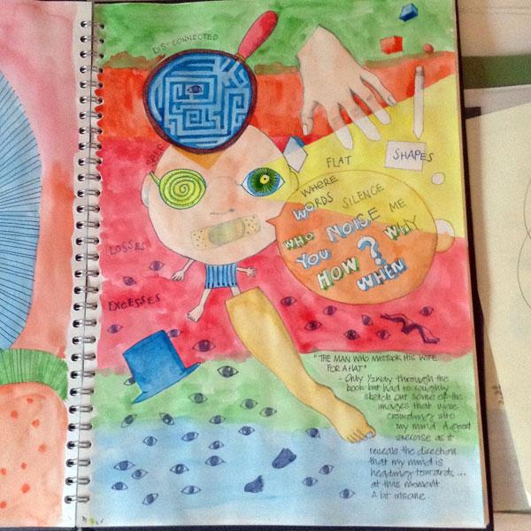 Neuroscience sketchbook 2 by Floating-Lemons
