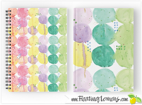 Drippy-Blobs-Notebooks-Journals-by-Floating-Lemons