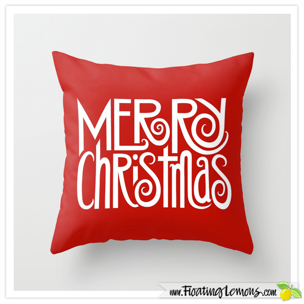 Merry-Christmas-white-Cushion-for-Society6