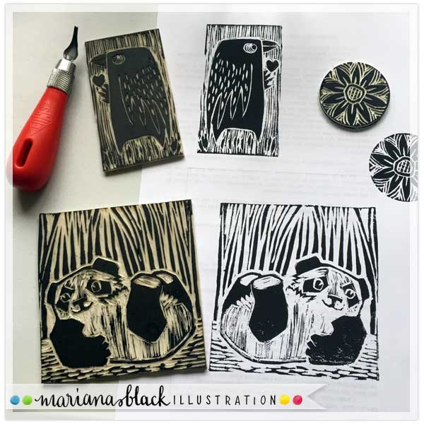 Playful Panda Prints by Mariana Black 1