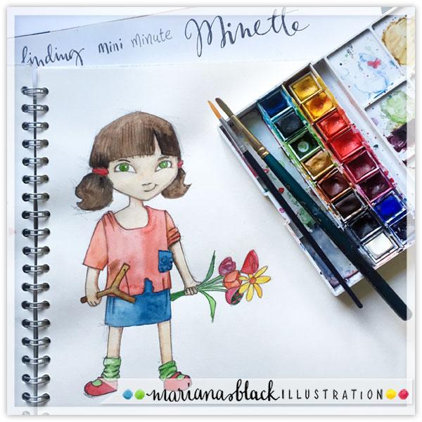 MyMatsPrep Minette by Mariana Black