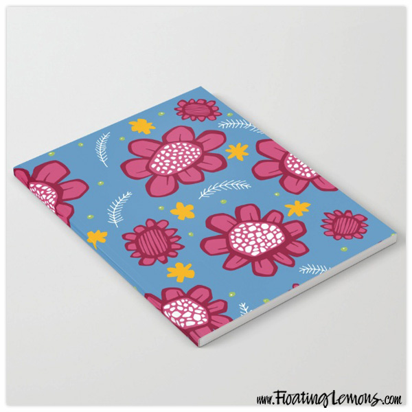 Pop-Flowers-pink-notebook-by-floating-lemons