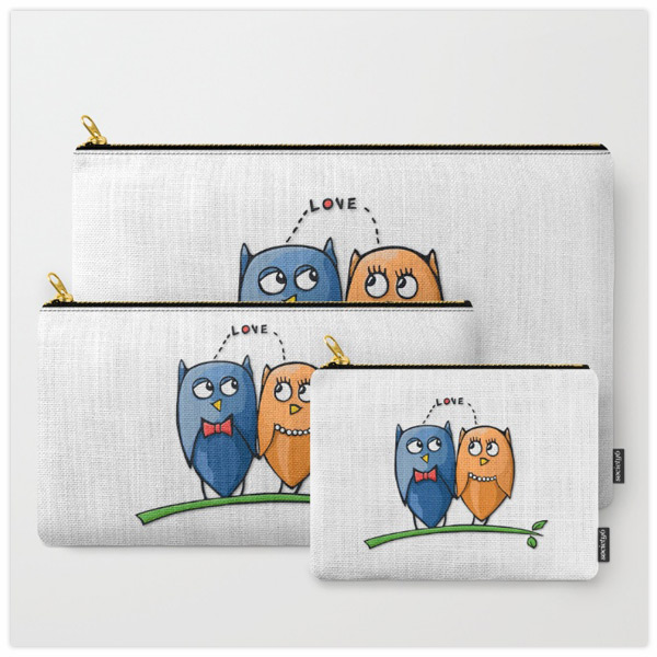 Owl-Love-Pouches-by-Floating-Lemons