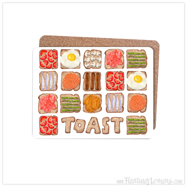 Breakfast-Toast-Placemats-by-Floating-Lemons-for-Bespo