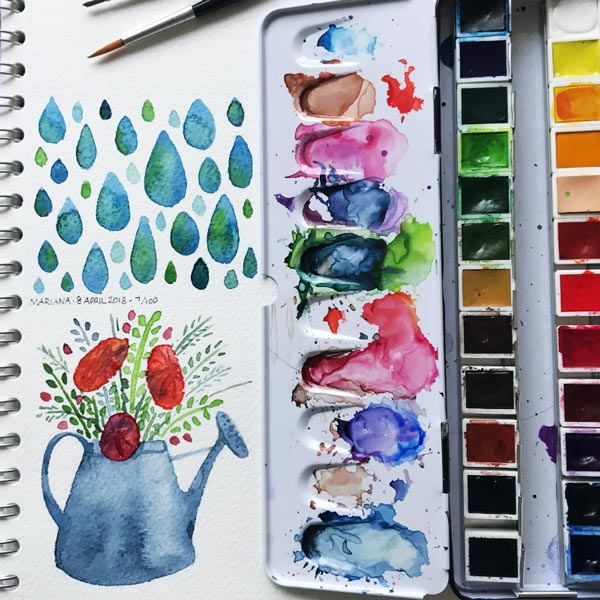 Watering-Can-Raindrops-by-MarianaM-floating-lemons