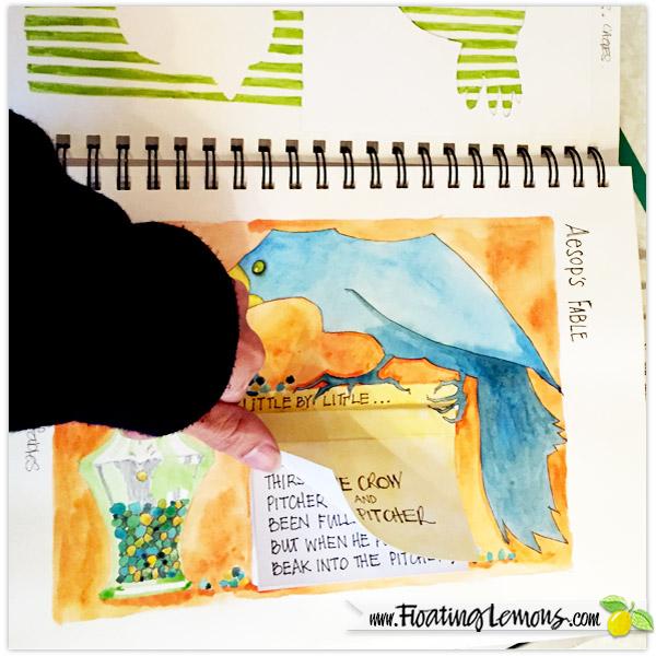 Sketchbook-Crow-Pitcher-2-by-Floating-Lemons