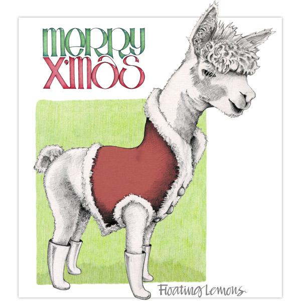 Merry-Christmas-alpaca-by-Floating-Lemons
