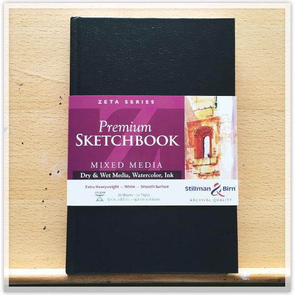 Stillman-&-Birn-sketchbook
