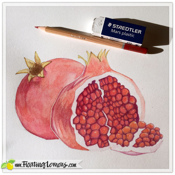 Pomegranates-in-progress-5