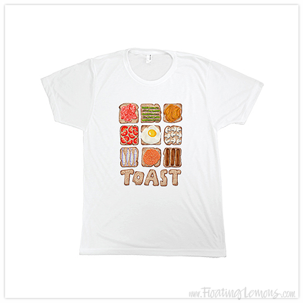 Breakfast-Toast-Tshirt-by-Floating-Lemons-for-Bespo