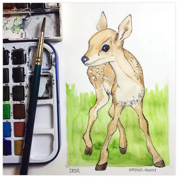 Deer2-by-Mariana