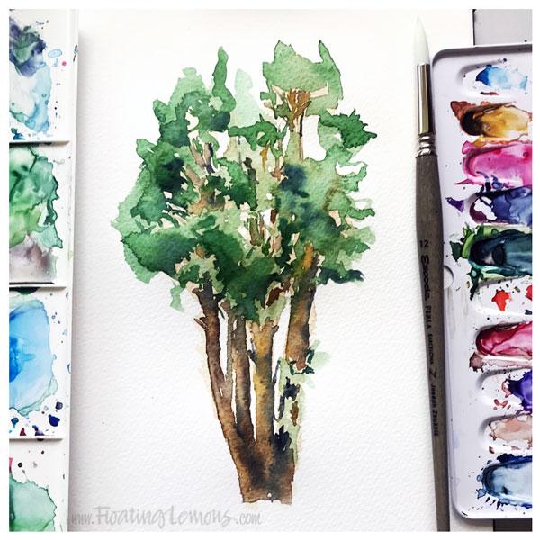 Tree-by-Floating-Lemons