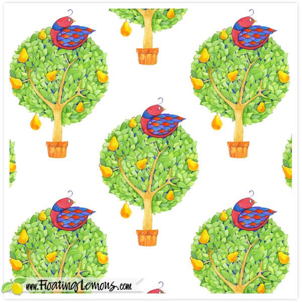 Partridge-in-a-Pear-Tree-1-by-Floating-Lemons