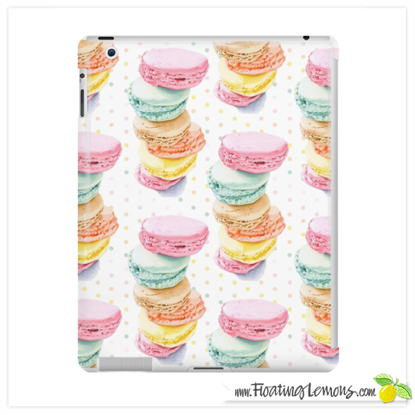 Macarons-iPad-Case-by-Floating-Lemons-for-Redbubble