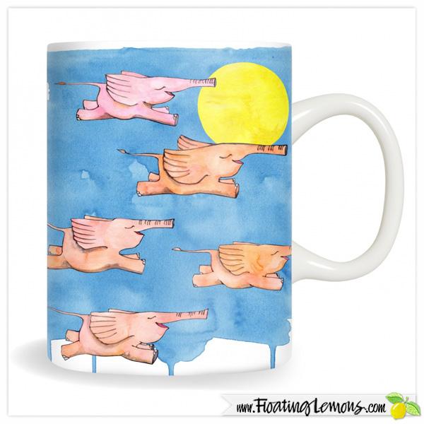 Flying-Elephants-Mug-by-Floating-Lemons-for-Creative-United
