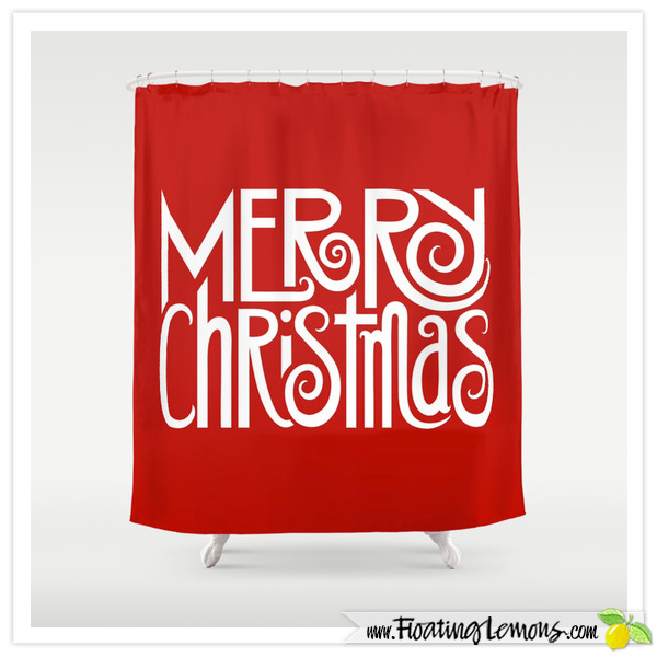 Merry-Christmas-white-Shower-Curtain-for-Society6