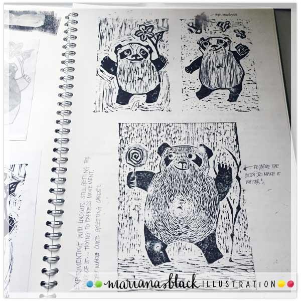 Playful Panda Prints by Mariana Black 3