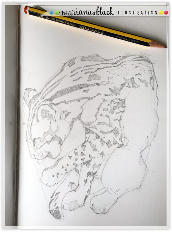 2-Leopard-Cat-sketch-by-Mariana-Black