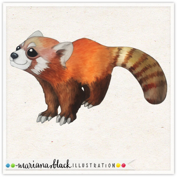Red-Panda-by-Mariana-Black