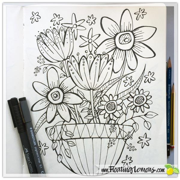 Doodle-Flowers-by-Floating-Lemons