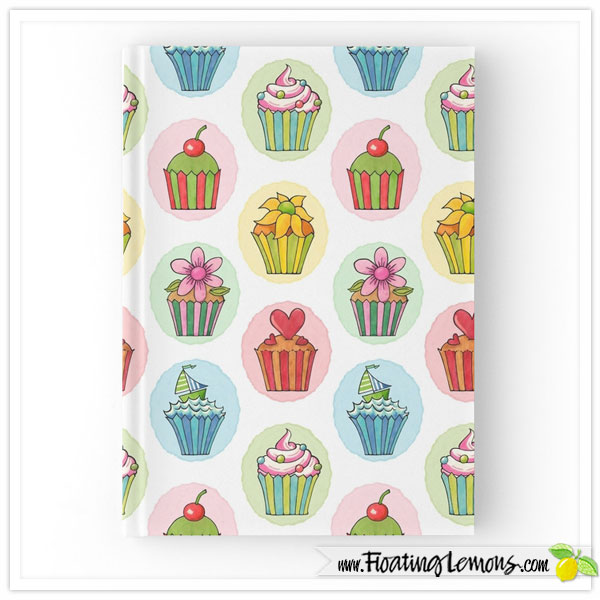 Quirky-Cupcakes-Notebook-Red-Bubble