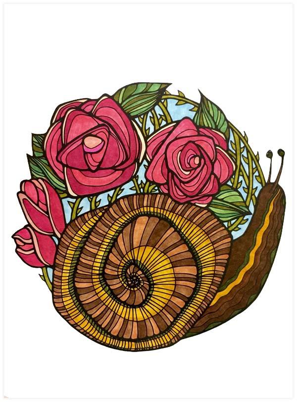 Yuline-Roses-Snail