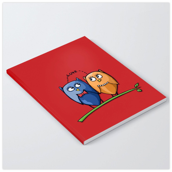 Owl-Love-red-Notebook-by-Floating-Lemons